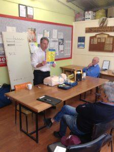 Defibrillator Training by David Gordon